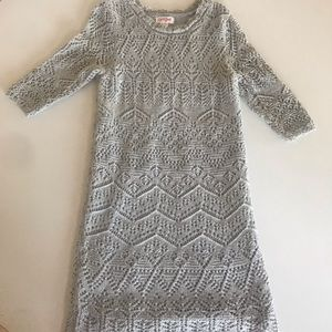 Sweater dress Cat &Jack 6/6X NWOT